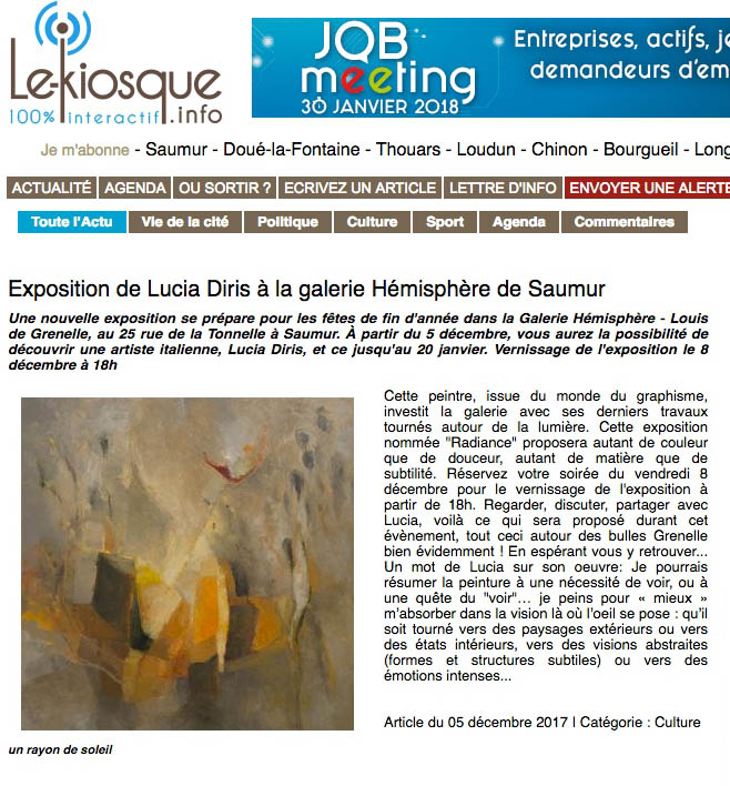 article expo saumur