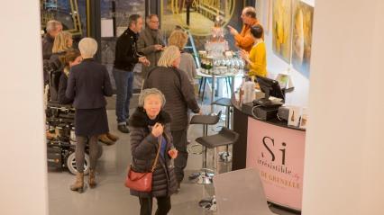 vernissage exposition Lucia Diris galerie Hémisphère de Saumur