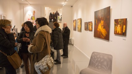 vernissage exposition Lucia Diris 3